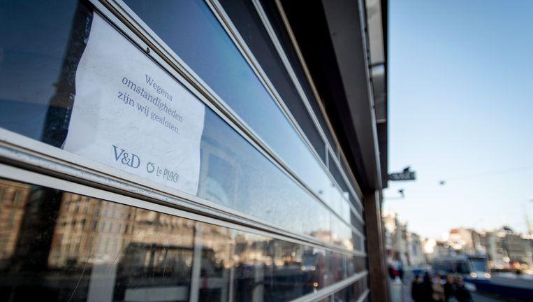 Zaandam wordt het eerste V&D pand dat weer volledig wordt verhuurd Beeld anp