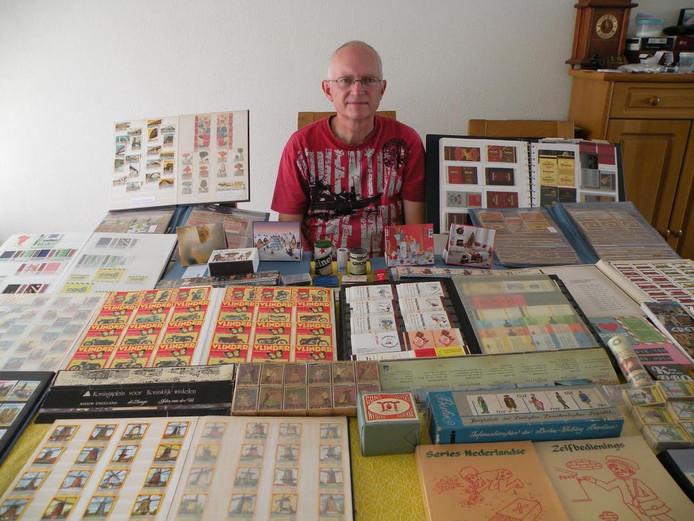 Dit keer exposeert Martin uit Schijndel een bescheiden deel van zijn verzameling lucifersetiketten.