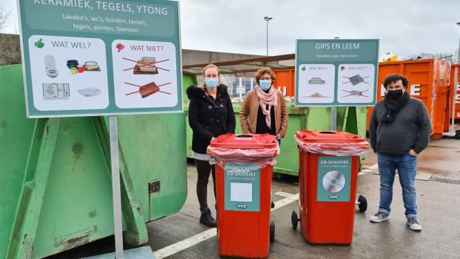 """Nieuwe sorteerpanelen op de recyclageparken: """"Ze helpen de burgers om de juiste container te vinden"""""""