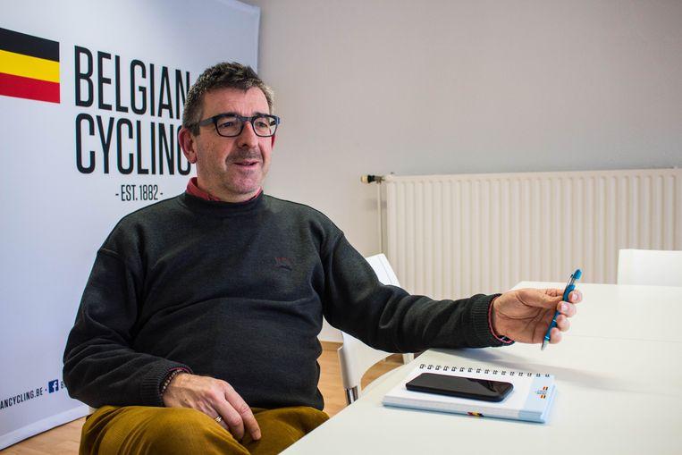 Philippe Mariën is veiligheidscoördinator bij Belgian Cycling en ook actief als UCI-commissaris. Beeld Michiel Martin
