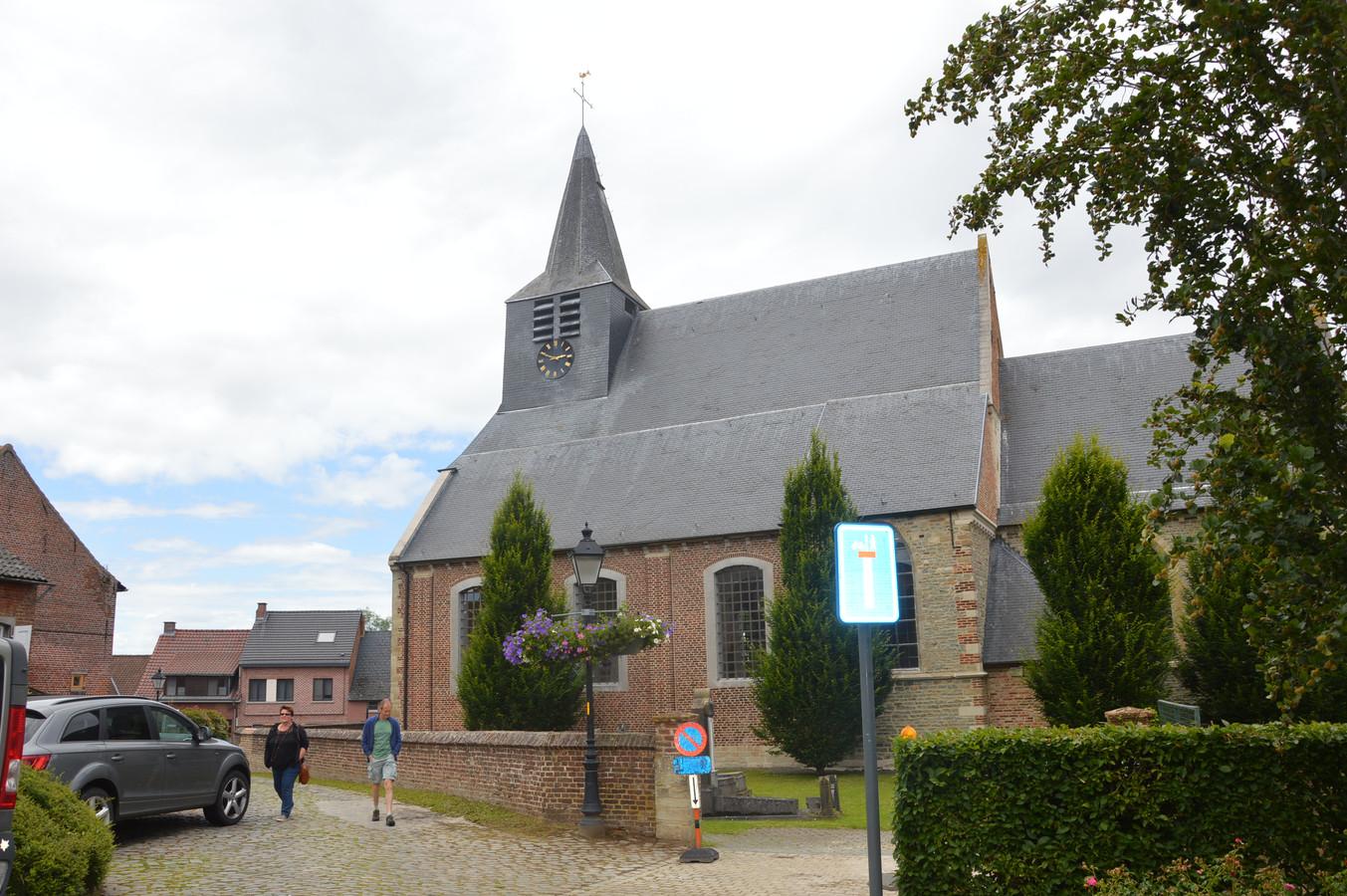 De kerk van Lieferinge.