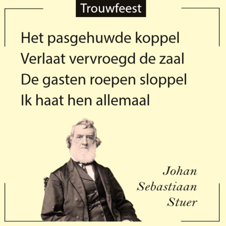 Trouwfeest Beeld Johan Sebastiaan Stuer
