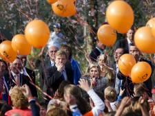 Koningsdag met biologische afbreekbare ballonnen