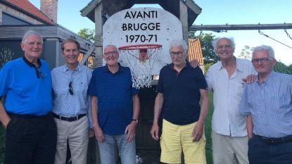Oud-spelers Avanti Brugge komen nog eens samen