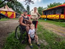 In september strandde Circus Barani in Halsteren, in juli vertrekken ze weer: 'De wagens zijn al uitgegraven'