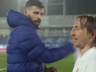 """Modric tegen Piqué: """"Jij staat weer klaar om te klagen, zeker?"""""""