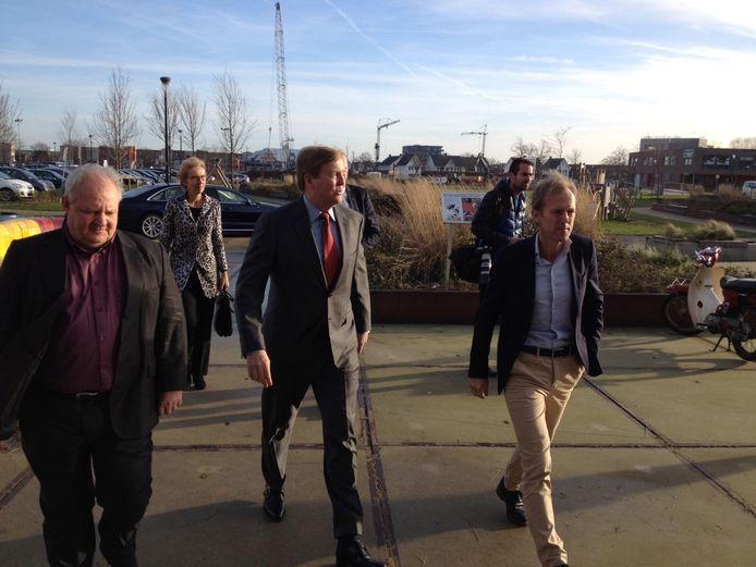 Koning bezoekt gezondheidscentrum Thermion in Lent