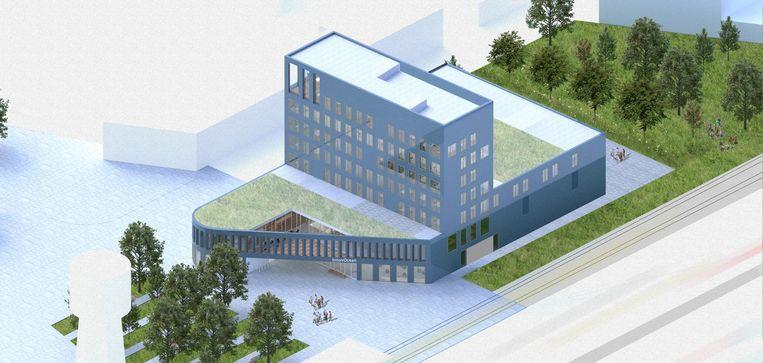 Campus 'InnovOcean' voor het VLIZ (Vlaams Instituut voor de Zee) en het ILVO (Instituut voor Landbouw-, Visserij- en Voedingsonderzoek).