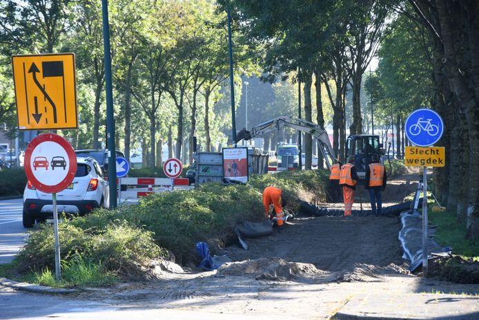 Verkeershinder op de Hollandbaan in Woerden