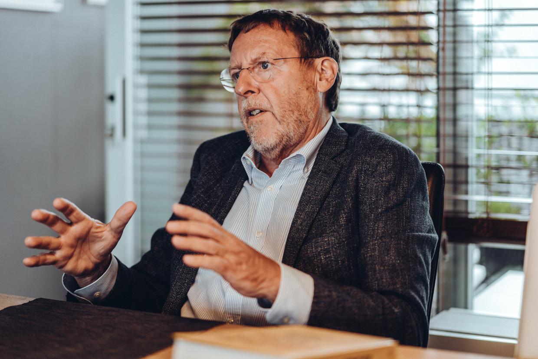 Siegfried Bracke: 'Onder vier ogen geven alle politieke kopstukken toe: het Belgische model is onhoudbaar.' Beeld Thomas Sweertvaegher