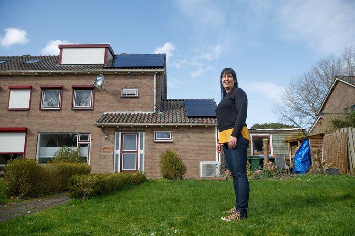Lieke Knape heeft maatregelen getroffen om haar woning energieneutraal te maken.