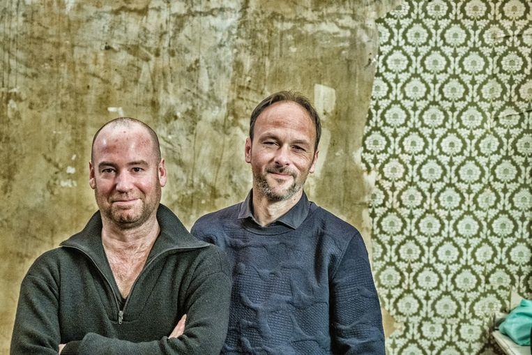 Koen van Kaam en Jorgen Cassier. Beeld Tim Dirven