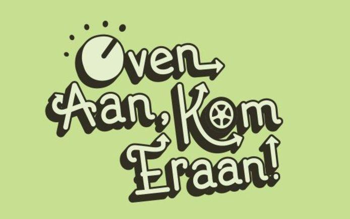 Logo van Oven aan Kom eraan