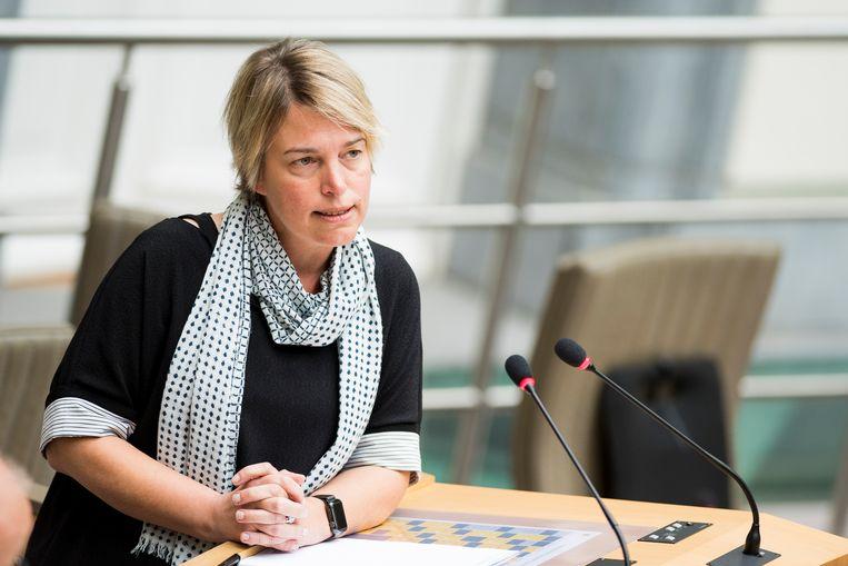 Minister Schauvliege. Beeld BELGA