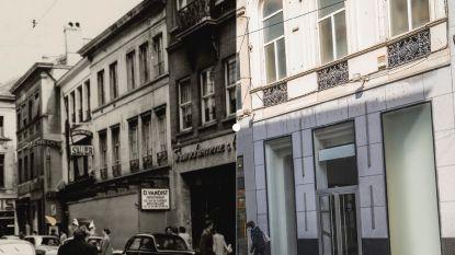 Vroeger en nu: in 1956 met de auto om sigaretten in de Veldstraat