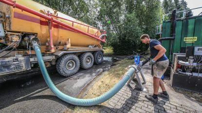 Ieperse landbouwers maken gebruik van wateraanbod Aquafin tegen droogte
