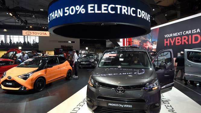 Toyota voor eerst in vijf jaar opnieuw 's werelds grootste autobouwer