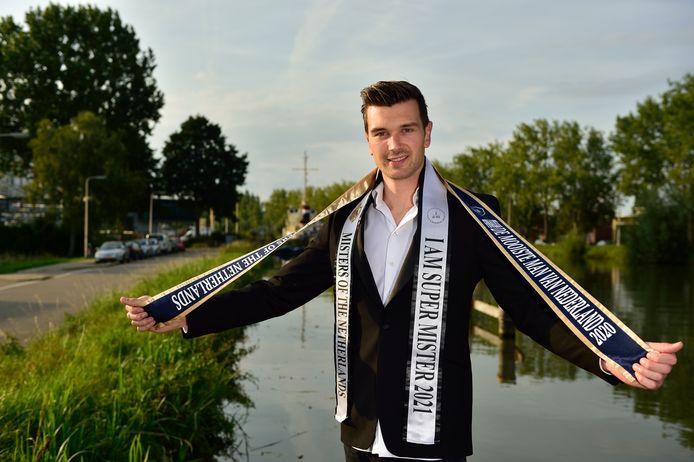 Tom Meeuwisse schopte het vorig jaar tot de top 10 van de verkiezing Mister of the Netherlands.