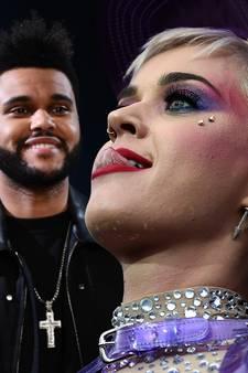 Katy Perry en The Weeknd betrapt tijdens intieme 'dinerdate'