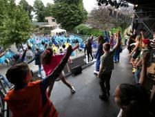Een live eindmusical in Acht, ondanks lockdown en veel regen