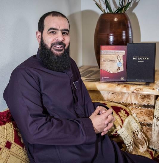 Abdelhamid Taheri, bestuursvoorzitter van de Haagse moskee as-Soennah
