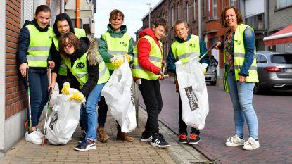 Leerlingen basisscholen op pad voor grote schoonmaak
