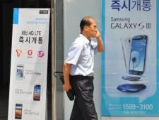 Près de deux Sud-Coréens sur trois possèdent un smartphone