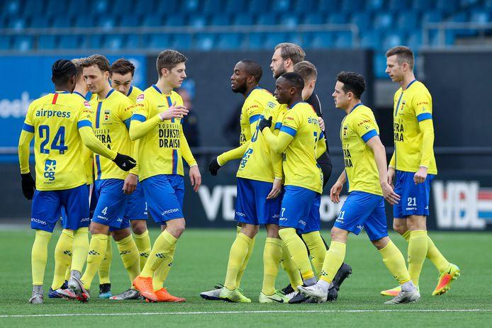 SC Cambuur boekte afgelopen zondag bij FC Eindhoven de achtste overwinning op rij.