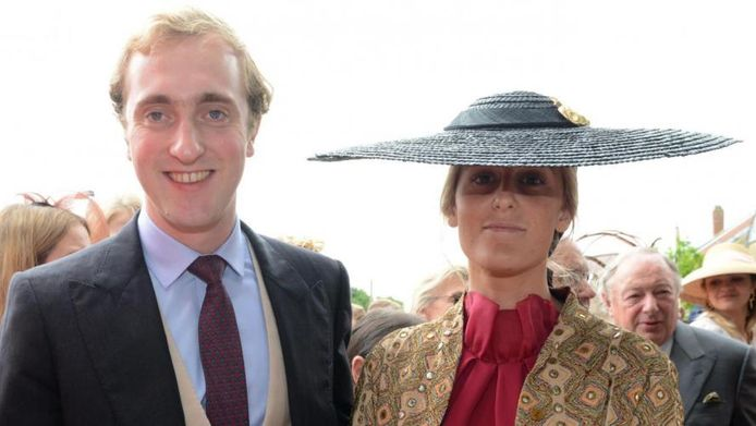 Prins Joachim en zijn vriendin, Victoria Ortiz Martinez-Sagrera