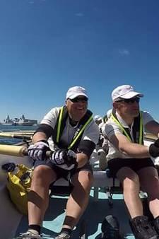 Tukkers bij de Dutch Marine Rowing Challenge: 'Dit was de zwaarste roeitocht ooit'