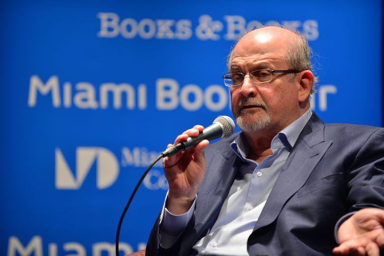 Salman Rushdie. Beeld Getty Images