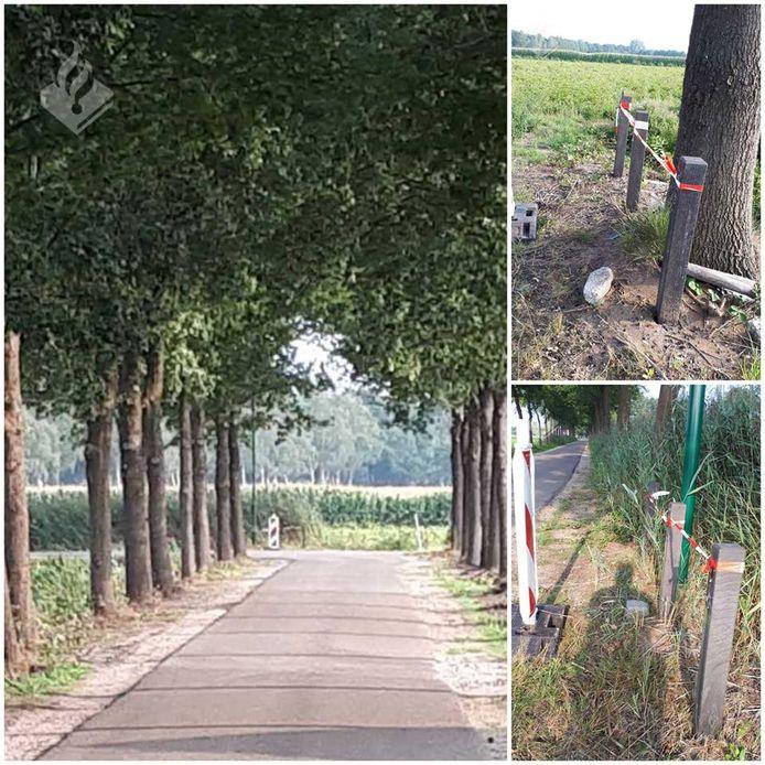 Mannen betrapt bij stelen hekken in Sint-Oedenrode.