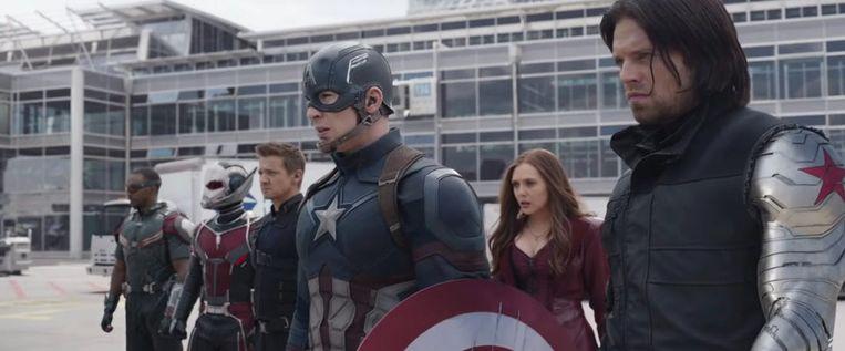 Civil War Beeld Marvel