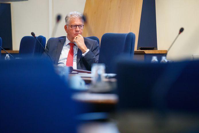 Burgemeester Frank Petter van Bergen op Zoom.