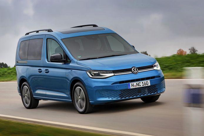 Dit is de personenwagenversie van de Volkswagen Caddy. Deze Combi komt niet naar Nederland