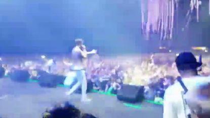 De spectaculairste jump van Pukkelpop: The Opposites springen met salto in het publiek