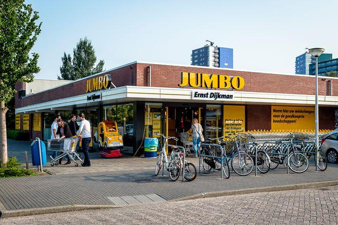 Supermarkt Jumbo in de Olm was de eerste supermarkt in het christelijke Krimpen die aangaf open te willen op zondag.