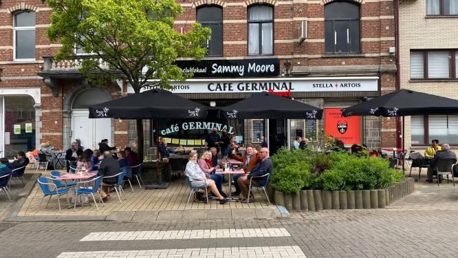 """De Terrassen in Aarschot lopen vol en de uitbaters zijn in hun nopjes: """"Het voelt als de eerste schooldag"""""""