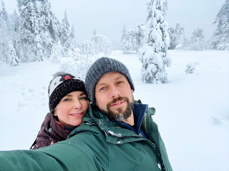 De winter was fenomenaal, aldus Staf en Monique: