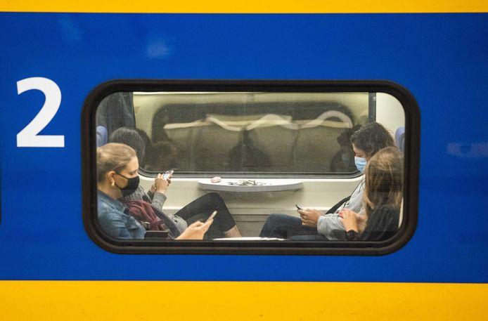 Een Nederlandse trein.
