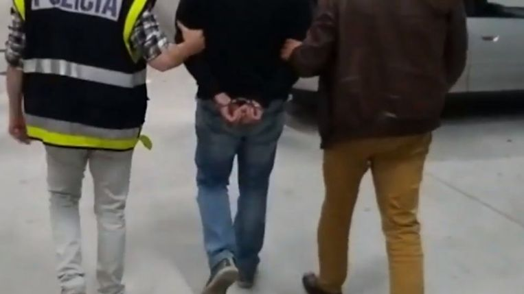 Sadullah U. gearresteerd Beeld Guardia Civil