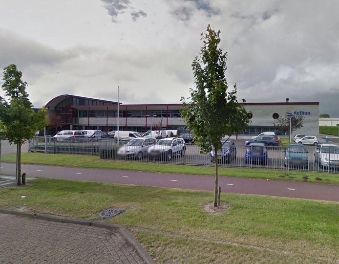 De vestiging van Dethon aan de Meester F.J. Haarmanweg in Terneuzen.