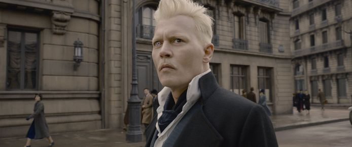 Johnny Depp als  Gellert Grindelwald.