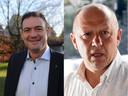 Machels burgemeester Marc Grootjans (links) en zijn Vilvoordse collega Hans Bonte schorsten Steven Tielemans donderdag in de politieraad.