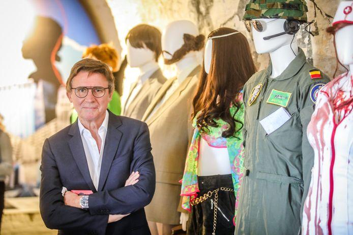 Erik Van Looy was een van de gasten bij de opening van de expo.