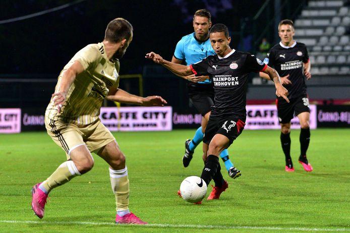 Mauro Júnior was vorig jaar in de derde voorronde van het toernooi om de Europa League succesvol tegen het Sloveense NS Mura.