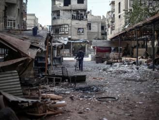 """""""Zeventig doden bij aanslag op markt in Syrië"""""""