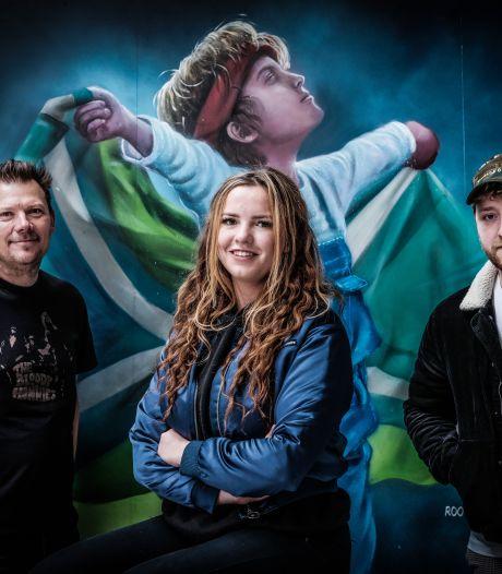 Jonge kunstenaars brengen ode aan hun streek: 'Geef mij de Achterhoek maar'