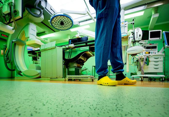 Een operatiekamer in het AMC.