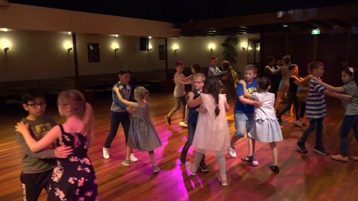 Kampioenschap stijldansen voor kinderen in Apeldoorn